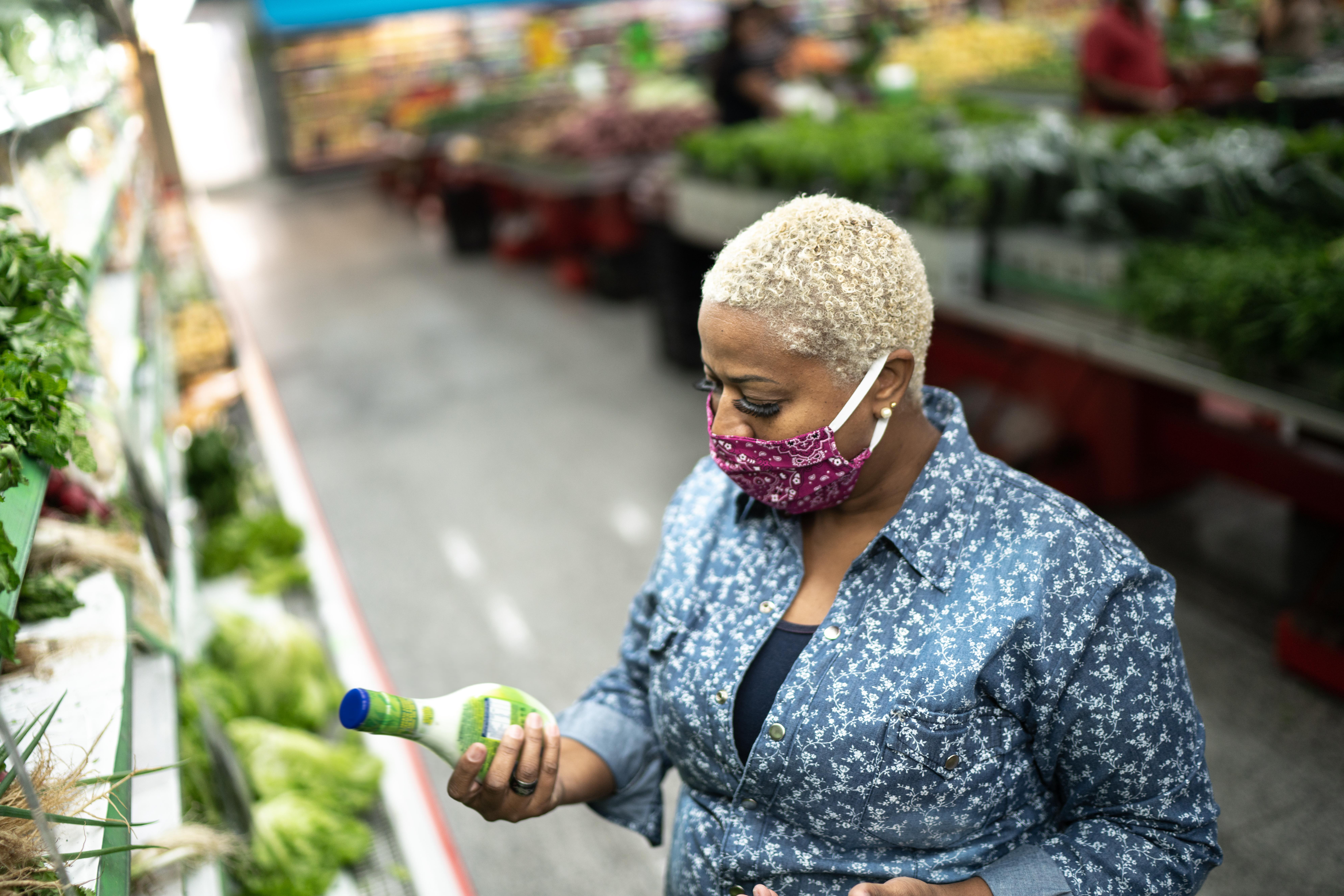 Coronavirus grocery shopping safety tips