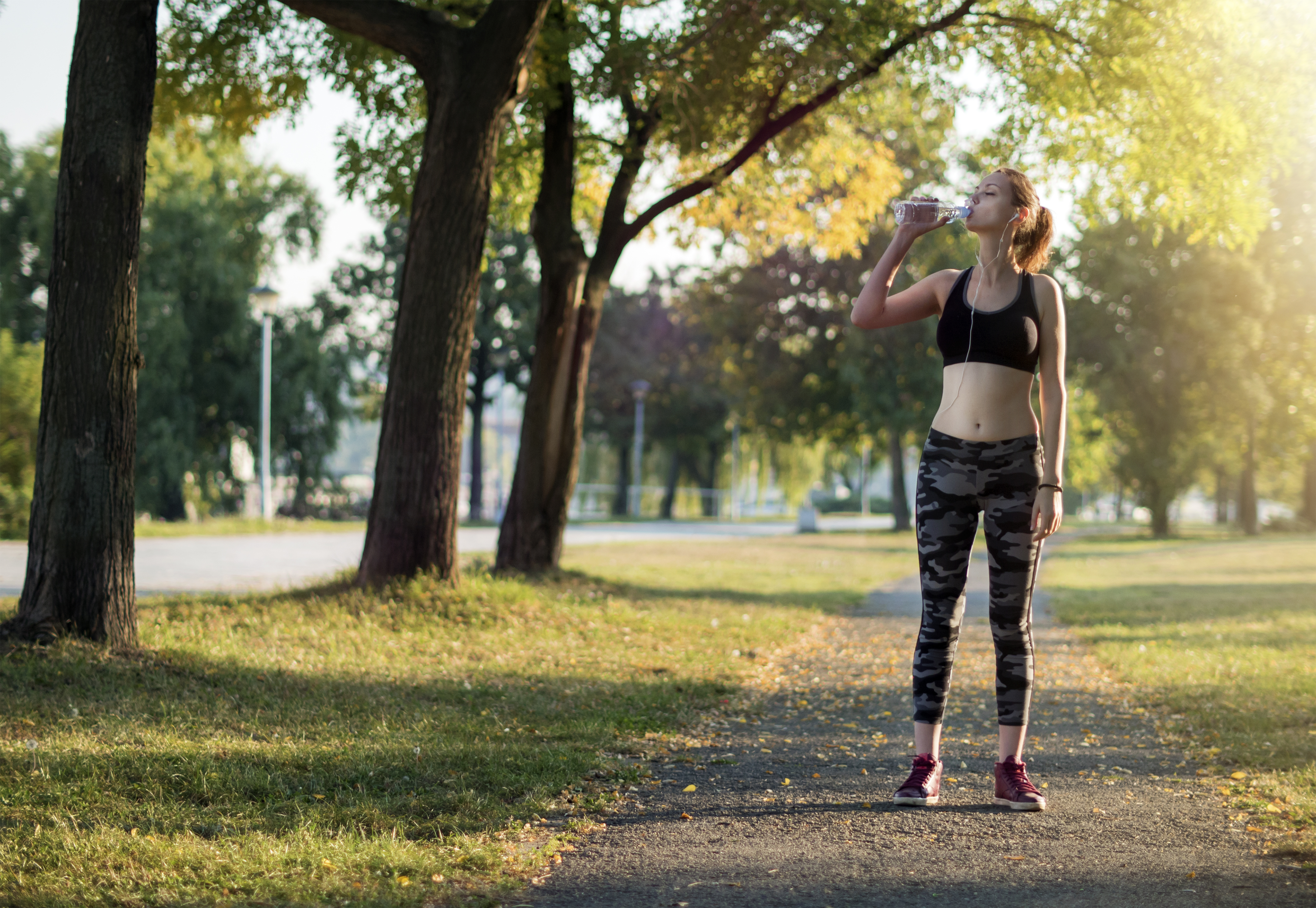 Exercising safely in hot weather conditions